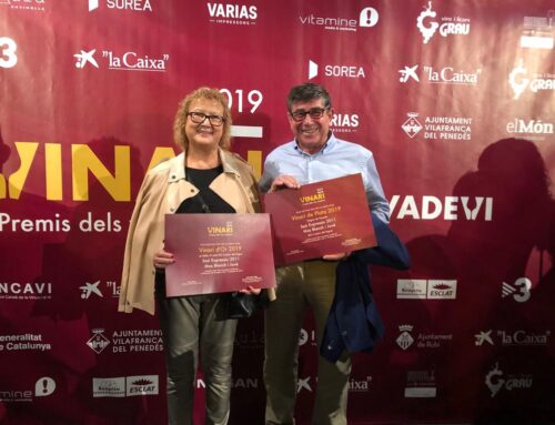Saó Expressiu 2011 –  Silver Vinari in the category of wines +12 months of aging & Gold Vinari best wine of DO Costers del Segre 2019